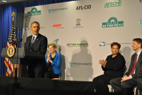 President gives shoutout to CFPB's Richard Cordray, February 2015